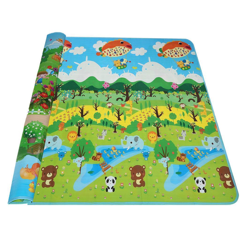 baby kid toddler crawl mat play carpet playmat playing foam blanket alphabet ebay. Black Bedroom Furniture Sets. Home Design Ideas