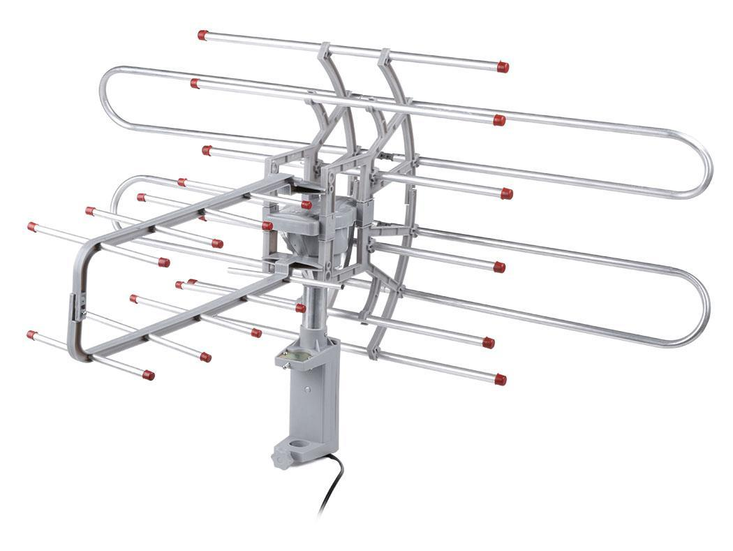 Digital Outdoor Tv Antenna High Gain 150 Miles Range Uhf