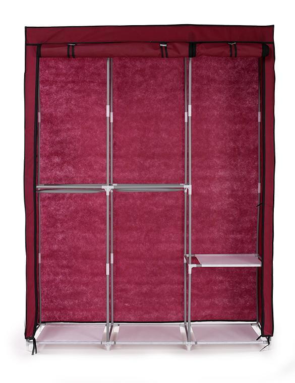 63 Portable Wardrobe Clothes Storage Bedroom Closet